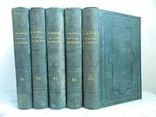 Henri Martin Histoire de France 1857 Furne 5 volumes tome 10 12 à 15 Gravure