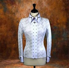 MEDIUM Western Showmanship Horsemanship Show Jacket Pleasure Shirt Rodeo Queen