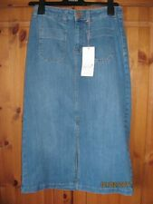 Per Una Calf Length Denim A-line Skirts for Women