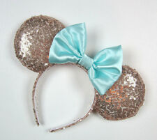 New Disney Minnie Mouse Bow Sequins Ear Headband