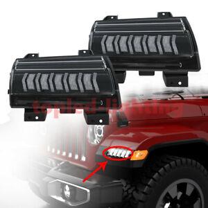 2021 LED DRL Turn Signal Light for Jeep Wrangler JL/Gladiator JT Rubicon/Sahara