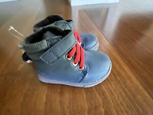 NWT GARANIMALS BABY/TODDLER Size 3 Baby Boy Blue Shoes Boots