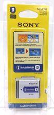 Sony NP-FD1 Battery Type D