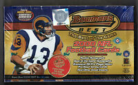 2000 BOWMANS BEST FOOTBALL CARDS ROOKIE AUTOGRAPH HOBBY BOX / TOPPS SEALED