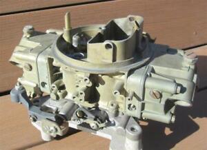 Holley 600 CFM Double Pumper Carburetor List 4776-3 Very Clean Carb Hot Rod COOL