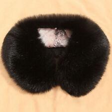Women Faux Fur Collar Scarf Shawl Scarves Stole Down Jacket Collars Plush Shaggy