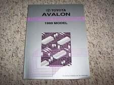 1999 Toyota Avalon Electrical Wiring Diagram Manual XL XLS 3.0L V6