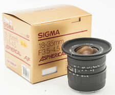 Sigma AF Zoom Aspherical 18-35mm 18-35 mm 1:3.5-4.5 3.5-4.5 - Canon EOS analog