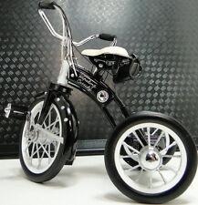 Tricycle 1920s Trike Black & White Bike Vintage Classic Metal Midget Model