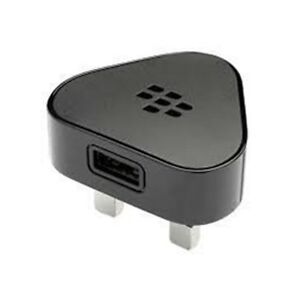 Genuine Blackberry Mains Wall Plug Charger - Black
