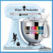 Backzauber + Name Aufkleber KitchenAid kitchen Aid Küchenmaschine Sticker