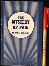 1950 MEthodist Church of Australia THE MYSTERY of PAIN VGC+ 32 page pocket book
