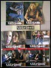 THIRTEEN - Rachel Wood,Hunter,Reed,Hudgens - JEU 6 PHOTOS / 6 FRENCH LOBBY CARDS