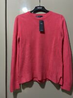 New M&S Pink Jumper/top Long Sleeves Size UK 10/small