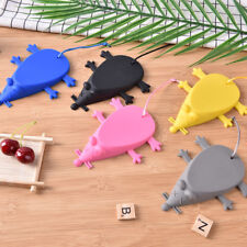 Creative Mouse Shaped Door Stop Silicone Rubber Mouse Door Stop Wedge MD