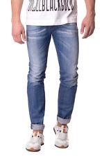 RRP €252 DIESEL W28 L32 Men's IAKOP 0807K Distressed Crumpled Tapered Fit Jeans