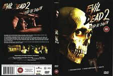 EVIL DEAD 2 Dead by Dawn DVD Bruce Campbell Sam Raimi UK Release New Sealed R2