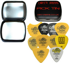 Dunlop Tortex Variety Pack - 20 x 0.73mm Guitar Picks / Plectrums In A Pick Tin