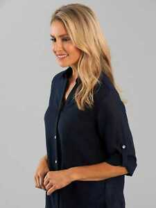 Black Pepper Womens Bliss 3/4 Sleeve Shirt