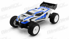 Exceed RC MicroX 1/28 Micro Scale Truggy RTR 2.4ghz Remote Control Car (Blue)