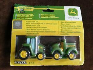 Childrens Tomy Ertl John Deere Mini Johnny Tractor & Allie Gator Toys New & Seal