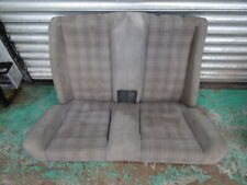 BMW E30 Convertible back Uberkaro chequered silver rear seat set 318i 320i 325i