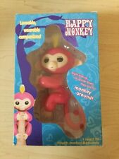 Electronic Interactive Fingerling Happy Monkey Finger Motion Pet Hot Toy - Pink