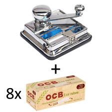 OCB MikrOmatic DUO (Stopfmaschine) + 2.000 (8x250) OCB® Organic (Hülsen)