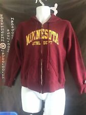 UNISEX Vintage Minnesota 80s Zip Hoodie Hoody Sports US M USA Russell Athletic