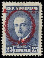 "ALBANIA 202 (Mi156) - President Ahmed Zogu ""Laurel"" (pa63023)"