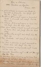 KORTRIJK Sint-Maartenskerk 1884 Inventaris Meubilair Handschrift  (P50)