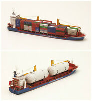 1:400 Scale Gdansk Cargo Ship DIY Handcraft PAPER MODEL KIT