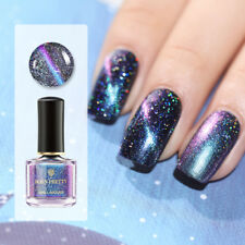 BORN PRETTY 6ml Blue Nail Polish Holographics Magnetic Varnish Black Base Needed