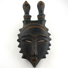 Rare, Superbe MASQUE Africaniste Céramique JAQUE SAGAN mask/accolay/capron....