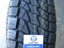 4 New 275/65R18 Lion Sport AT Tires 275 65 18 R18 2756518 AT All Terrain A/T 65R