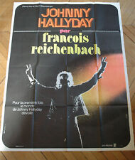 JOHNNY HALLYDAY RECHEINBACH J'AI TOUT DONNE 1971 AFFICHE FRENCH POSTER