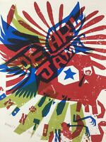 Pearl Jam - 2005 Ames Design Poster Edmonton, AB, CAN Rexall Place