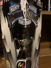 "Mighty Morphin Power Rangers The Movie 8"" Black Ranger New Factory Sealed 1995"