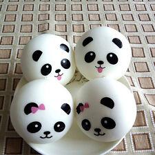 2X Randomly Panda Squishies Kawaii Buns Bread Smell Charms Cellphone Straps TC