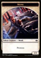 1x MTG Monk Token League Promo - NM+ - Magic the Gathering Fate Reforged English