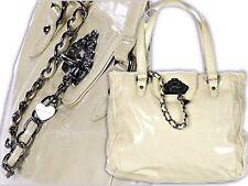 FORNARINA borsa borsa josiahn b609ps54 Borsa Shopper catena beige 33x26x12cm