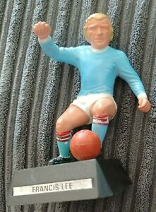 """Francis Lee (Man City) """"Wembley Soccer Stars"""" model  1970s by Mettoy good used"""