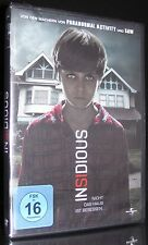 DVD INSIDIOUS - CHAPTER 1 - Horror - Macher von SAW & PARANORMAL ACTIVITY * NEU