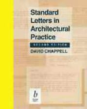 Standard Letters in Architectural Practice by Chappell, David