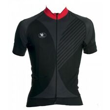 Vermarc Mare Men's Short Sleeve Cycling Jersey Black XL RRP £110.99