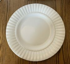 "Retroneu ""Lets Eat"" 1 Round 12"" Serving Platter China Dinnerware Shell White"