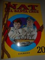 vintage LIBRO:fumetto NAT DEL SANTA CRUZ - DARDO - 4 SERIE N.3 VOL. N. 20