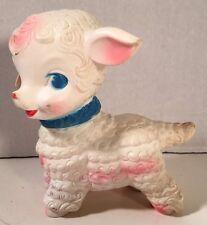 1958 Edward Mobley/Arrow Rubber Co. Rubber Squeaky Sheep/Lamb