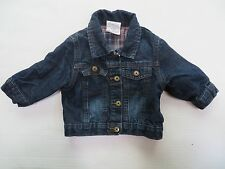 Wrangler Denim Blue Jacket, Toddler boy girl unisex 18 months