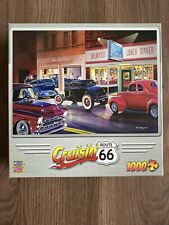 MASTERPIECES 1000 Piece Puzzle - Brand New in Sealed Box - Cruisin' Route 66